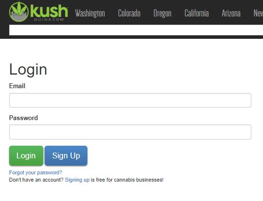 How To Create A Business Profile On Kush Marketplace   Kush Marketplace Login